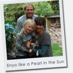Enyo like a Pearl in the Sun