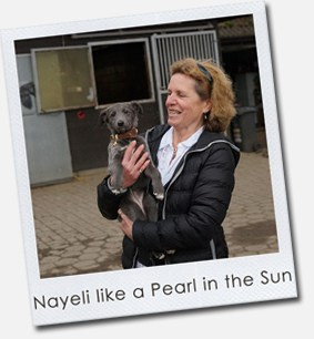 Nayeli like a Pearl in the Sun