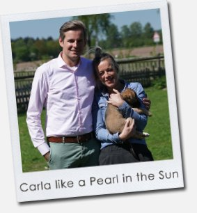 Carla like a Pearl in the Sun
