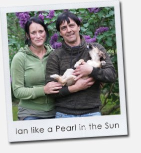 Ian like a Pearl in the Sun