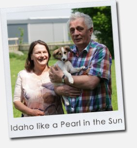 Idaho like a Pearl in the Sun
