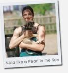 Nala like a Pearl in the Sun