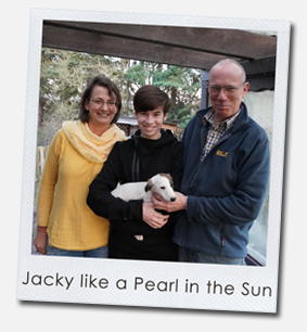 Jacky like a Pearl in the Sun