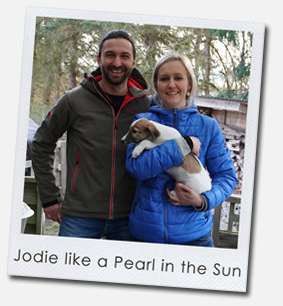 Jodie like a Pearl in the Sun