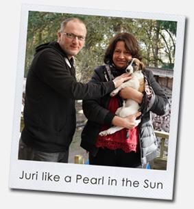 Juri like a Pearl in the Sun