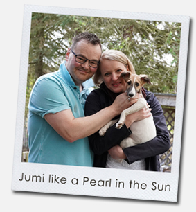 Jumi like a Pearl in the Sun