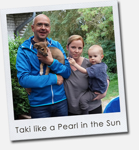 Taki like a Pearl in the Sun