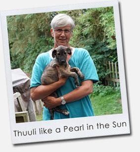 Thuuli like a Pearl in the Sun