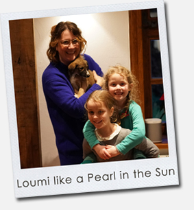 Loumi like a Pearl in the Sun