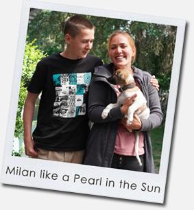 Milan like a Pearl in the Sun