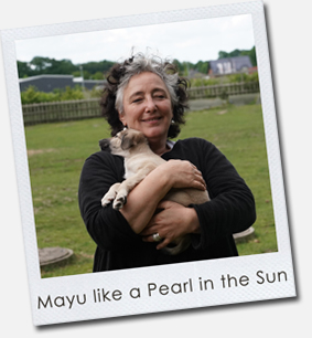 Mayu like a Pearl in the Sun