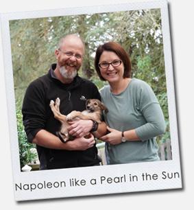 Napoleon like a Pearl in the Sun