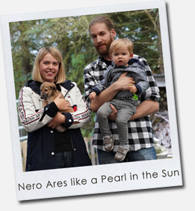 Nero Ares like a Pearl in the Sun