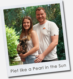 Piet like a Pearl in the Sun