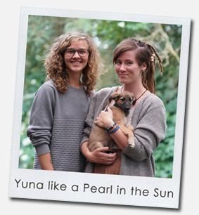 Yuna like a Pearl in the Sun