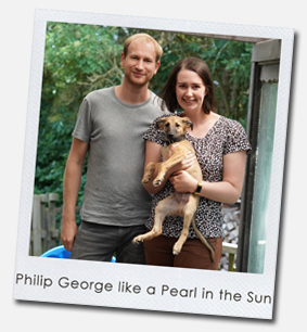 Philip George like a Pearl in the Sun